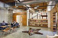 Hipster office space