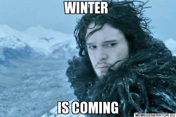 winter is coming www.memegenerator.eu