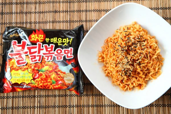 korean spicy noodle